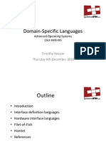 Domain‐Specific Languages_Lect