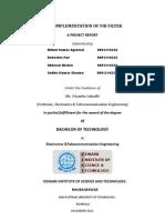 Fpga Implementation of Fir Filter