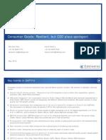 Consumer Goods - Sector Update