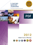 2012 Global Course Offerings