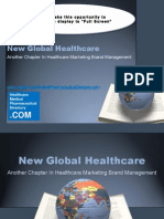 New Global Healthcare-Another Chapter in Healthcare Marketing Brand Management