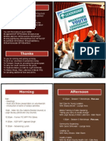 #Btfdylead 2012 Program