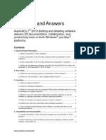 AutoCAD LT 2013 - Preguntas más frecuentes - Diferencias entre versiones PC-Mac