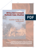 SAFNet, Africa Environment Outlook Case Studies