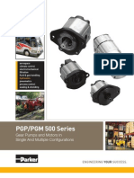 Pgp500_parker Gear Pump
