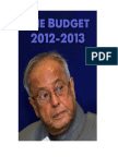 Budget 2012-13 Unicon