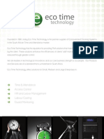 Eco Time Brochure