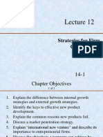 Lecture 12- Growth Strategies and Issues