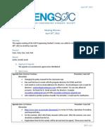2012-2013 [EngSoc] Meeting 01 - April 30, 2012