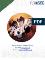 Auditoria ISO 27001 Etapas