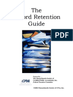 Record Retention Guide