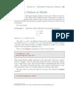 Parametric Surfaces