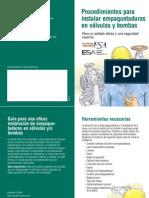 Fsaesa Packings Installation Flyer Espanol