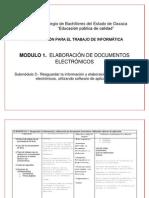 Matriz Capacitacion a Modulo Uno Submodulo III