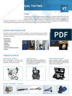 Overview Catalogue of Products and Services for Vt