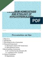 Potassium Homeostasis