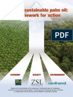 Towards Sustainable Palm Oil. a Framework for Action