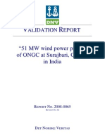 Project on ONGC Validation