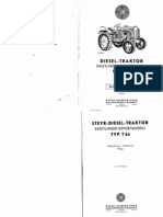 Steyr Traktor Betriebsanleitung Manual T84