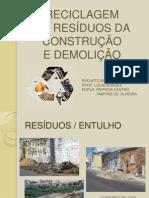 Reciclagem Construção Civil