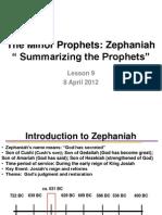 LSN 9 ZEPHANIAH