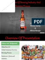 Globalization of Brewing Industry and Brewing Process