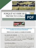 Fotos Lagunas Proyecto Conga