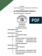 Formula Salbutamol Sirup