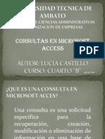 Tipos de Consultas en Microsoft Access