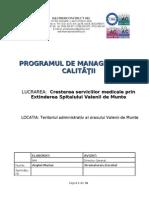 PMC Valenii de Munte - Spital 26.04.2012