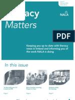 Summer 2012 Literacy Matters