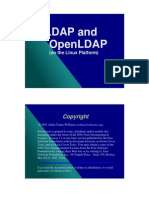 LDAP and OpenLDAP (on the Linux Platform)