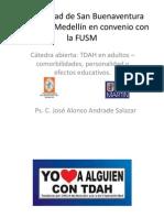 Tdah en Adultos by José Alonso Andrade Salazar