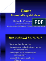 Gout Itsnotall Crystal Clear