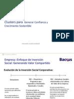 Fernando Zavala. Backus. Clusters para Generar Confianza y Crecimiento Sostenible