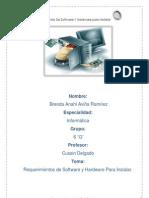 Resumen 20 Requisitos de Sofware y Hadware Para Instalar.