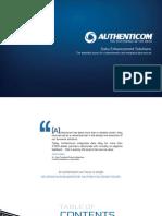 Authenticom Data Enhancement Solutions