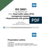 ISO 39001 - Peter Hartzell