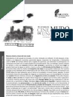 Programa XII Jornadas de Cine Mudo de Uncastillo - El Transporte y Los Viajes en El Cine Mudo