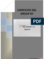 Ejercicios SQL Group By