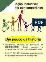 Educação inclusiva um desafio contemporaneo