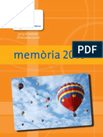 Memòria Fundació Plataforma Educativa 2010