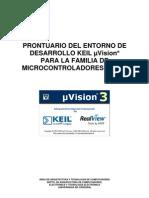 Prontuario (v1.1) Keil uVision3