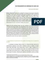 RBDC-09-237-Joao_Augusto_Mac_Dowell - Ética e Direito no pensamento de Henrique Lima Vaz