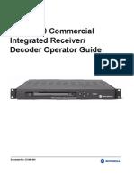 Motorola DSR4530 Operator Guide