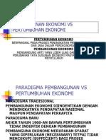Pertumbhan vs pembangn