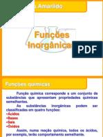 Funções Inorganicas