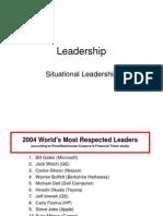 Leadership Situational