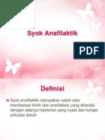Syok Anafilaktik karin (1)