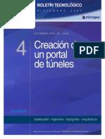 BOLETIN N4 Portal de Tuneles Con Civil 3D